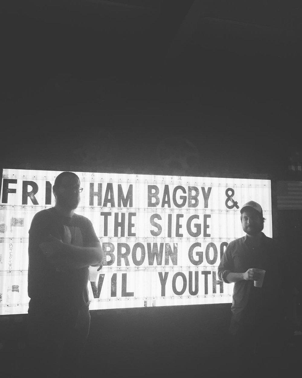 Andy Branton and Ham Bagby