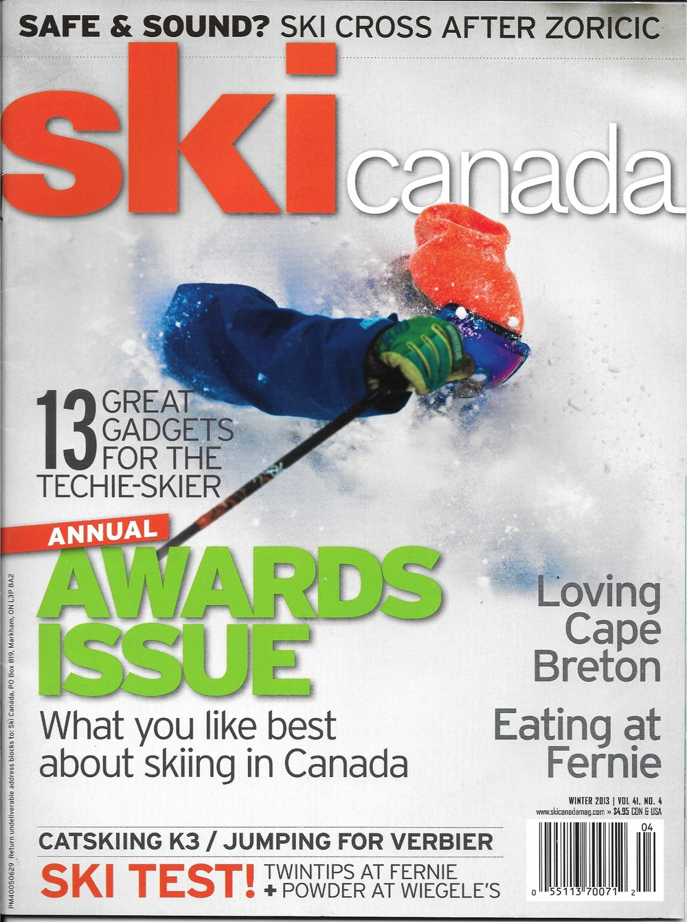 Ski Canada Winter 2013 - Photo by Grant Gunderson http://www.grantgunderson.com/