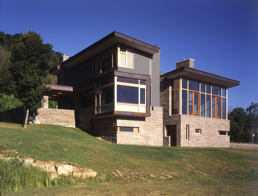 House on Niagara Escarpment | Jennifer Turner Architect
