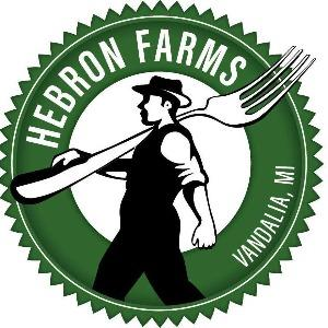 Hebron FarmsVandalia, Michigan - In the store: Grass-fed meats and eggs, Pesticide-free, Non-GMO, sustainably-grown produce. Also meet them at Wednesday Market 5-7pm.