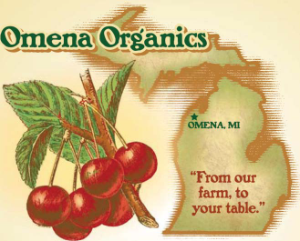 Omena OrganicsOmena, Michigan - Organic Frozen fruits and Vegetables, Organic Canned Beans and dried fruit
