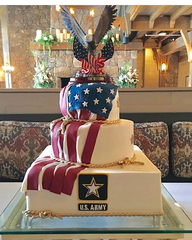 Happy 4th of July everyone! God Bless America! Enjoy your day! (One of my favorite groom's cakes!)