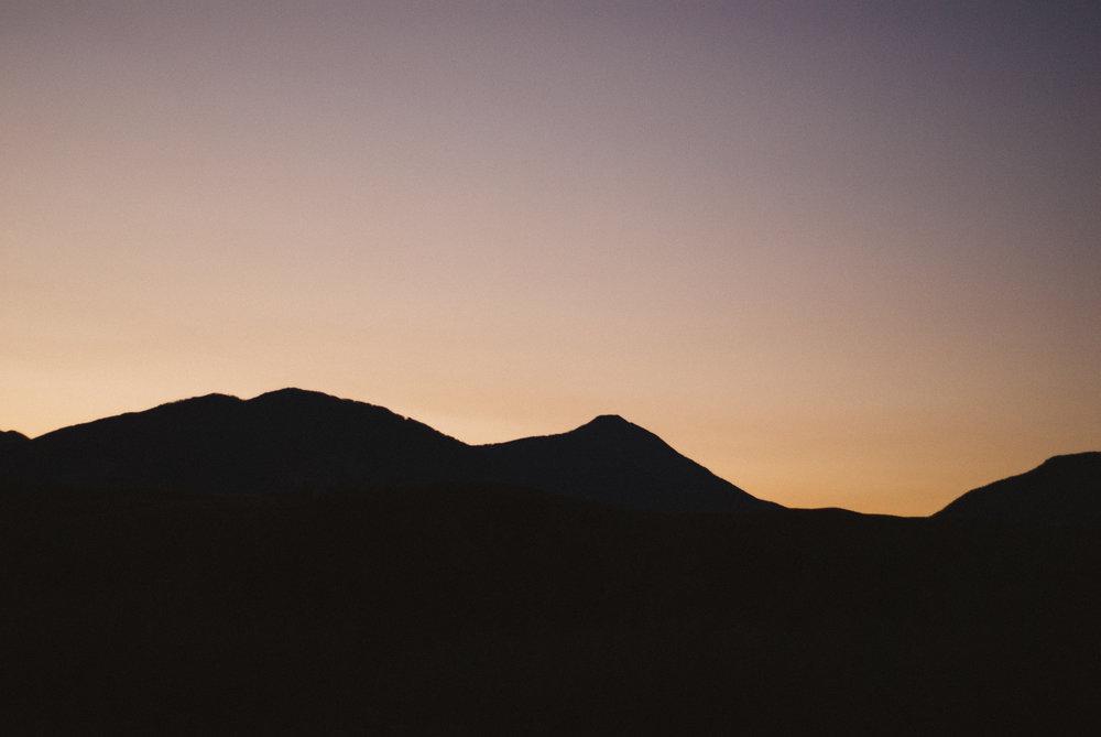 north of yellowstone somewhere - sunrise
