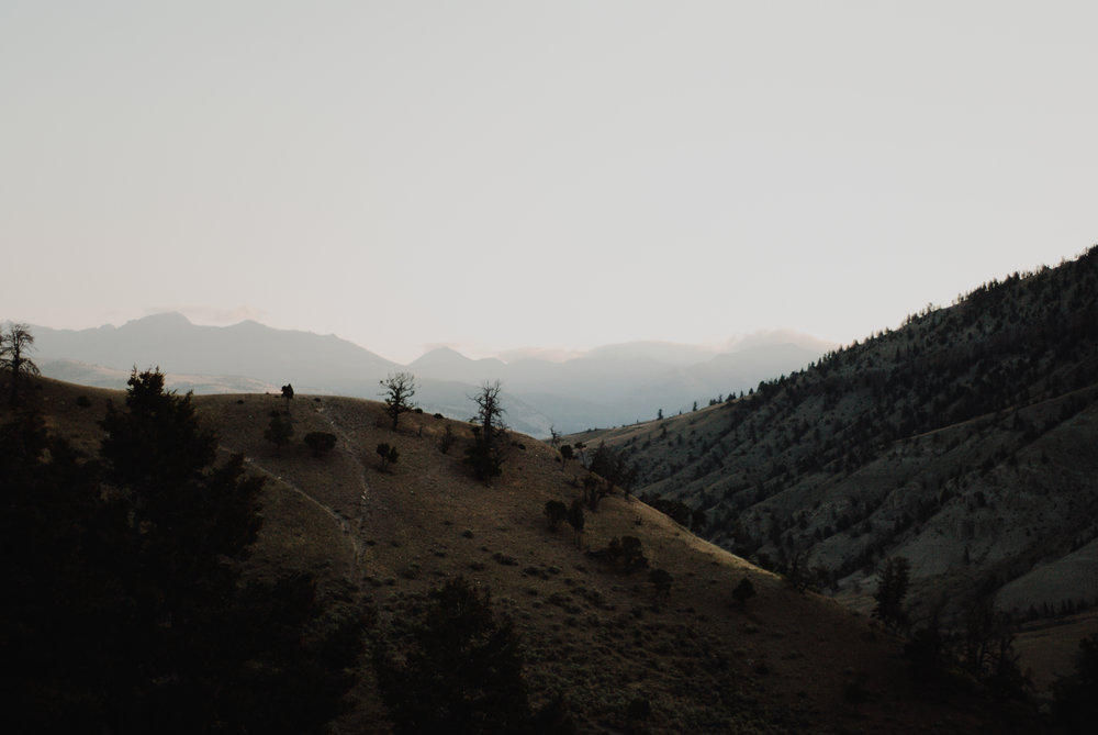 north yellowstone - layers of the land i