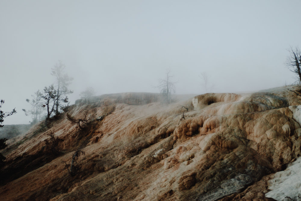 north yellowstone - layers of the land ii