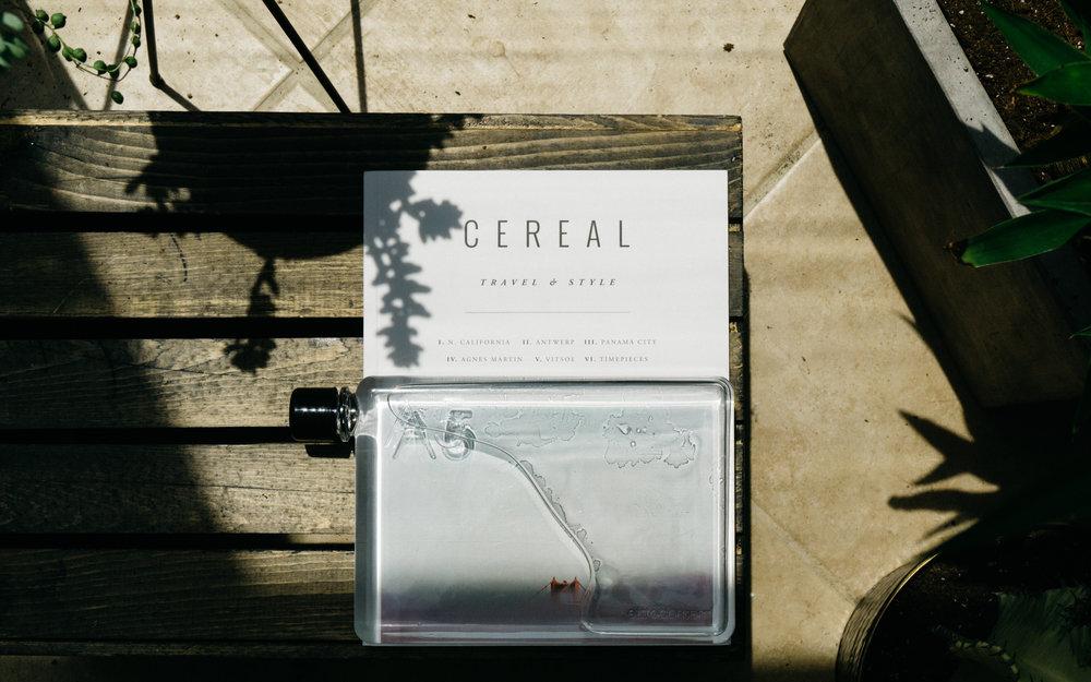 memobottle / cereal magazine