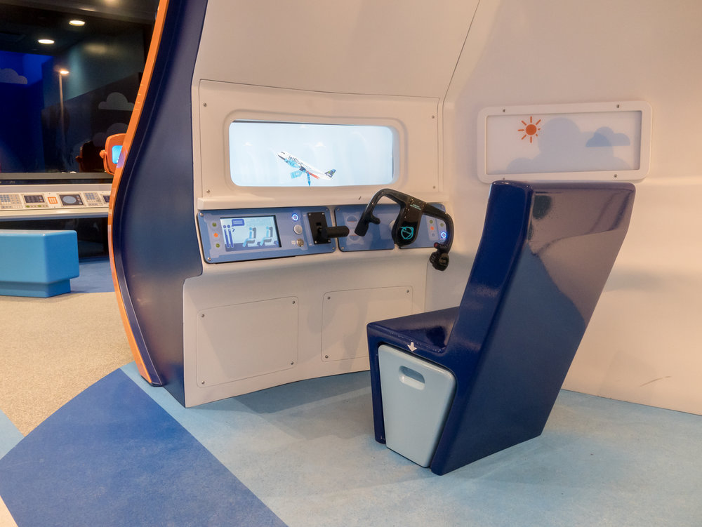 Jetblue Childrens Play Area Ibex Innovation