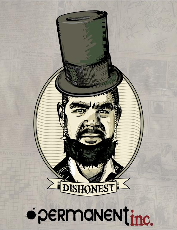 Dishonest Abe
