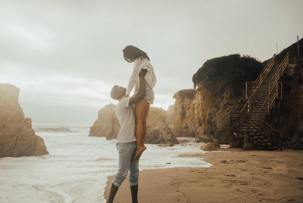 Malibu Couple Session By SB Photographs