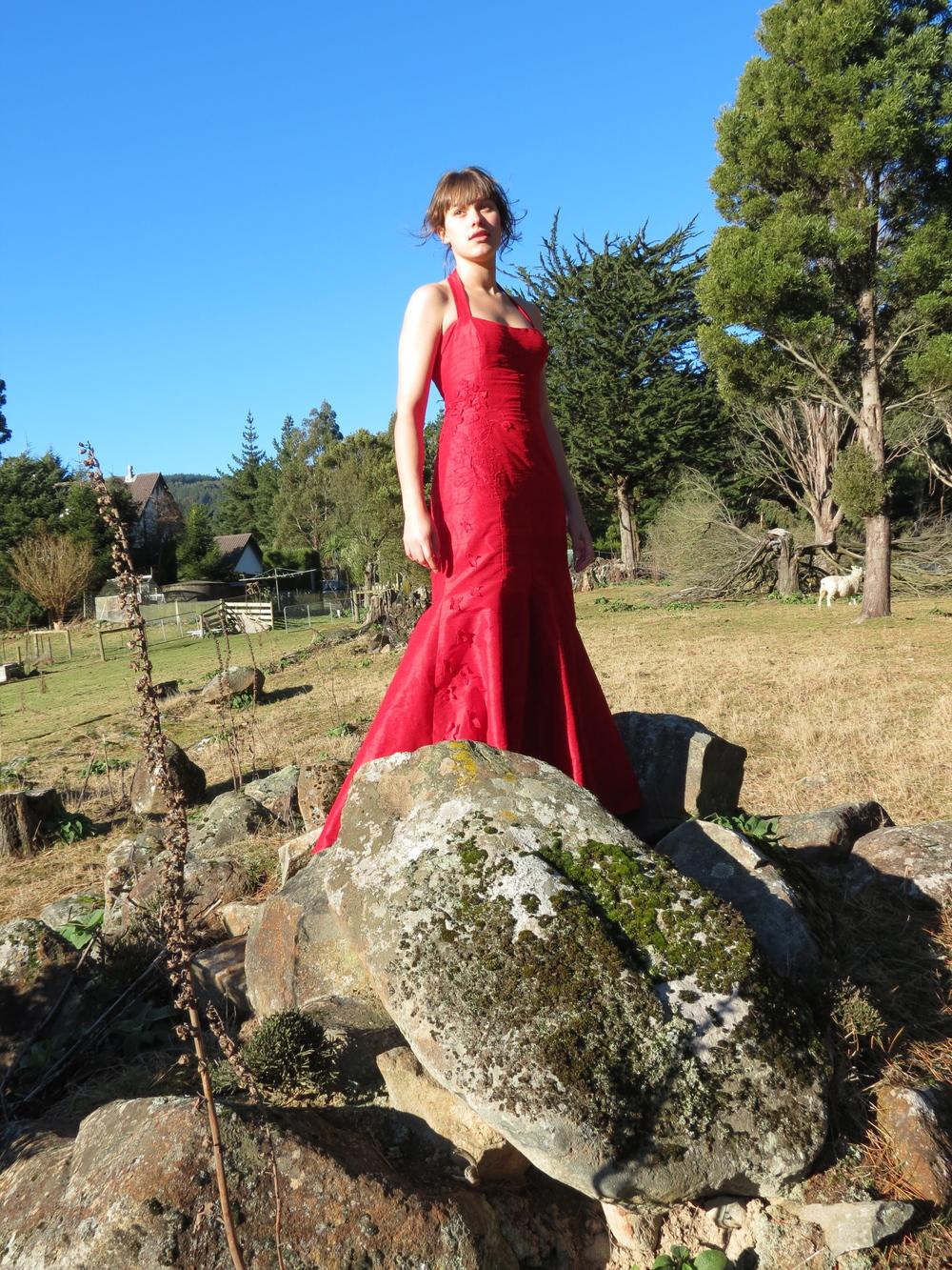 valentino-red-dress-photoshoot