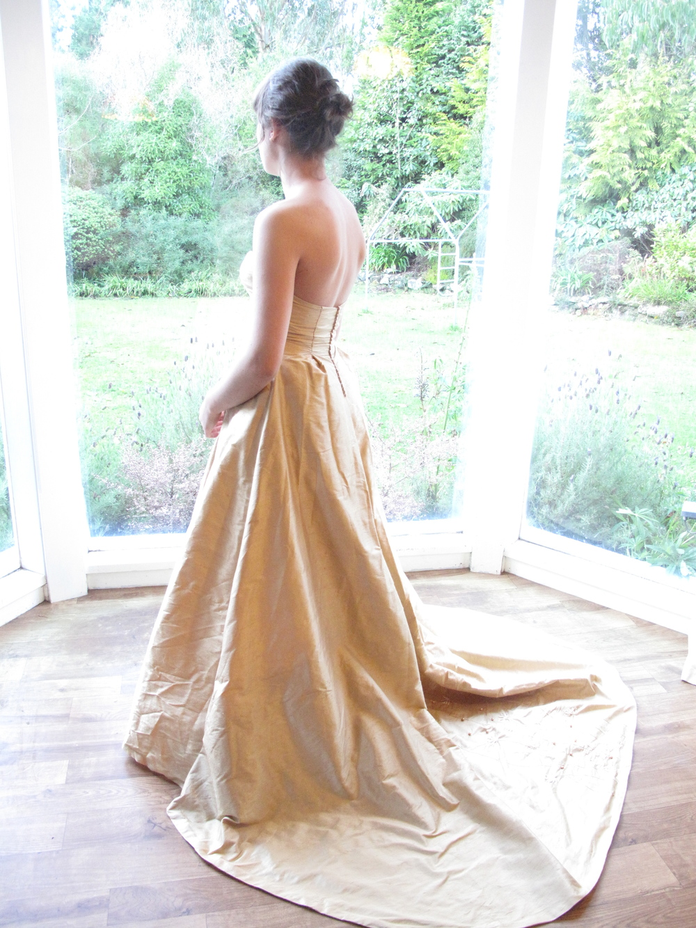 golden-historical-wedding-dress