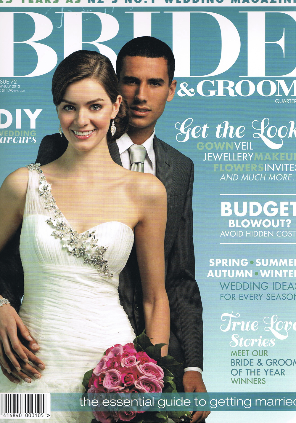 Bride and Groom cover