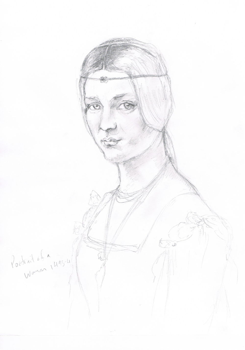 Portrait of an Unknown Woman  - Leonardo da Vinci