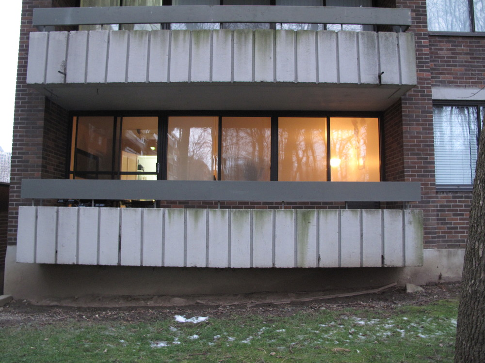 my old apartment