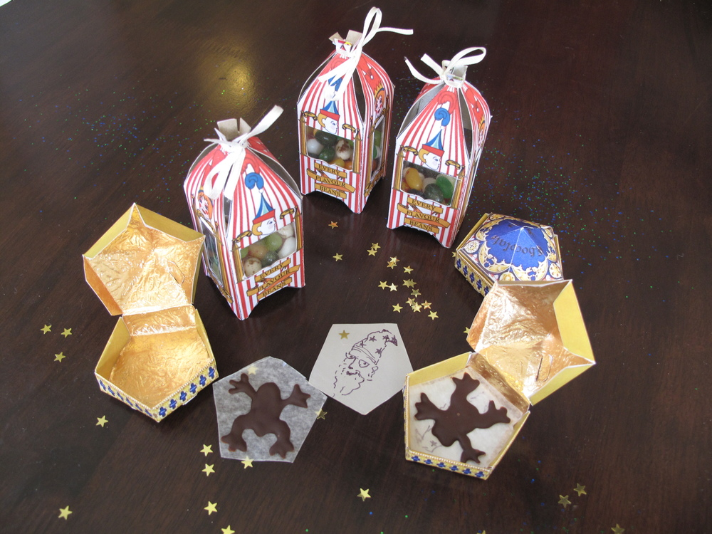 Harry Potter DIY chocolate frogs