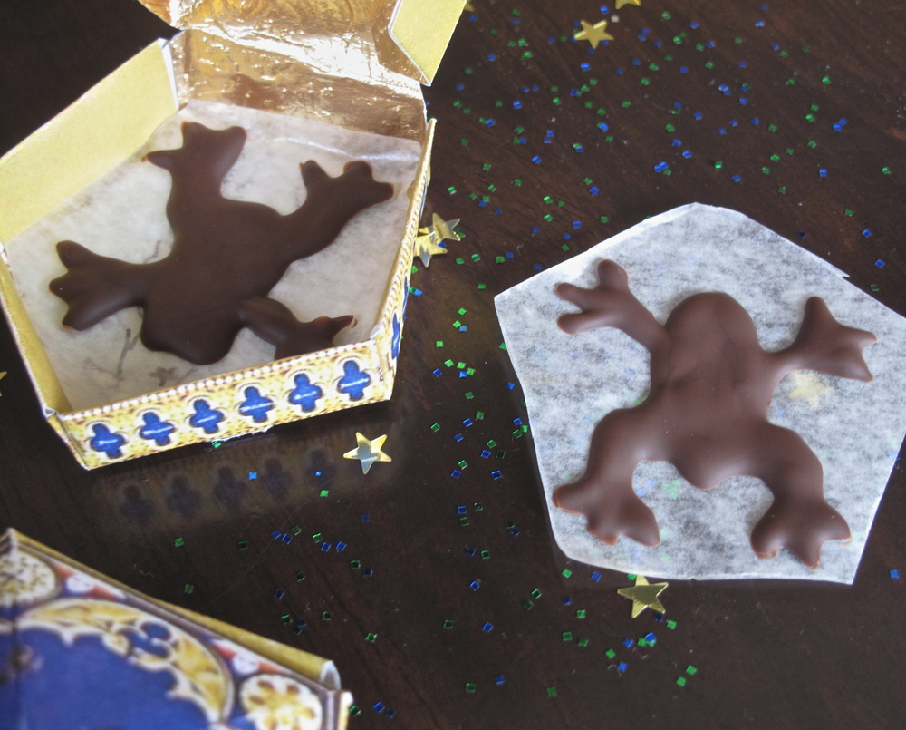 DIY chocolate frogs HP