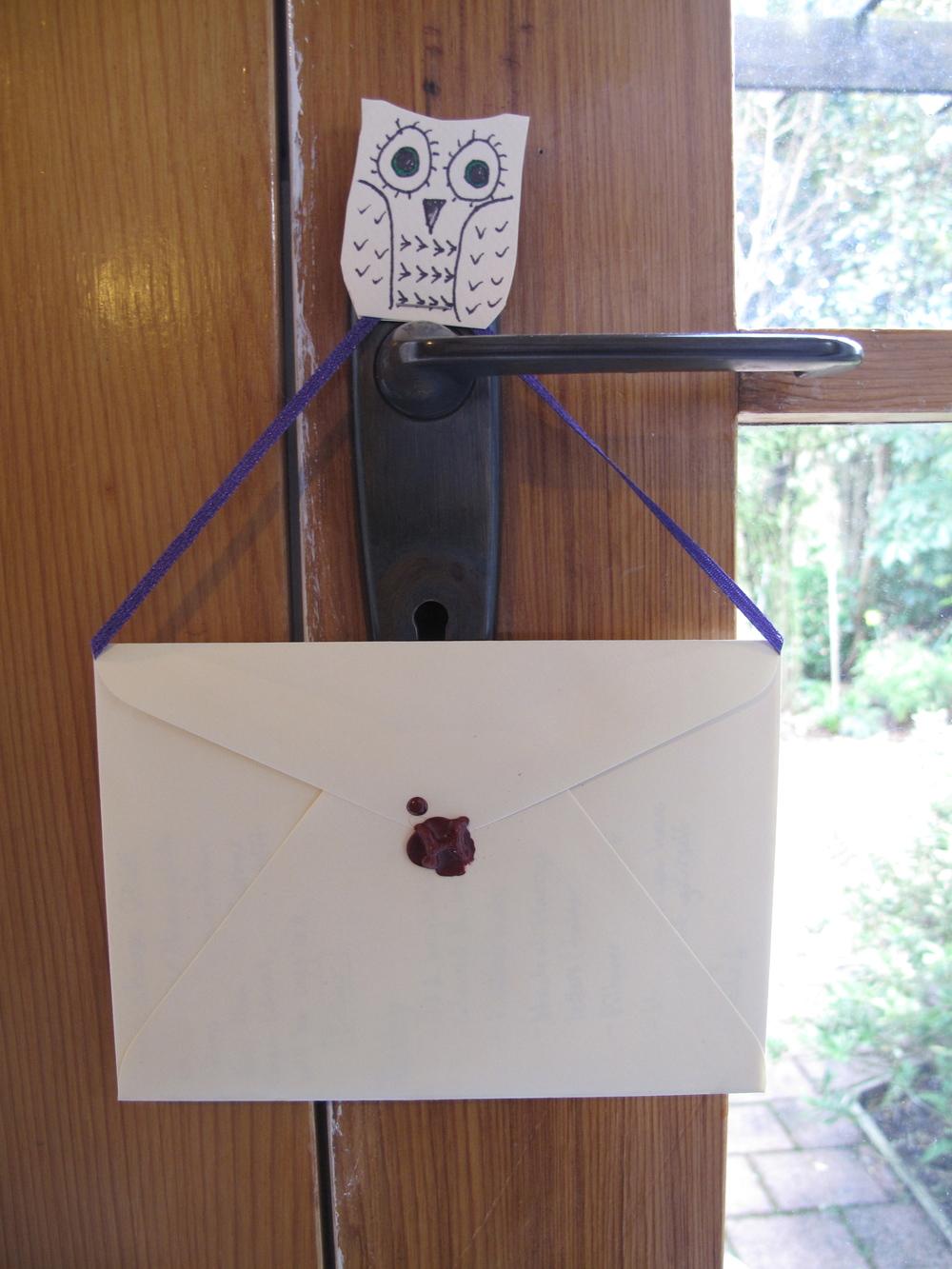 owl post DIY idea