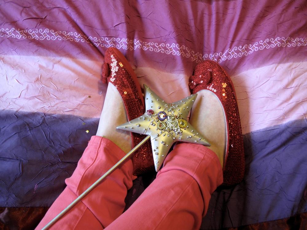 dorothy slippers magic