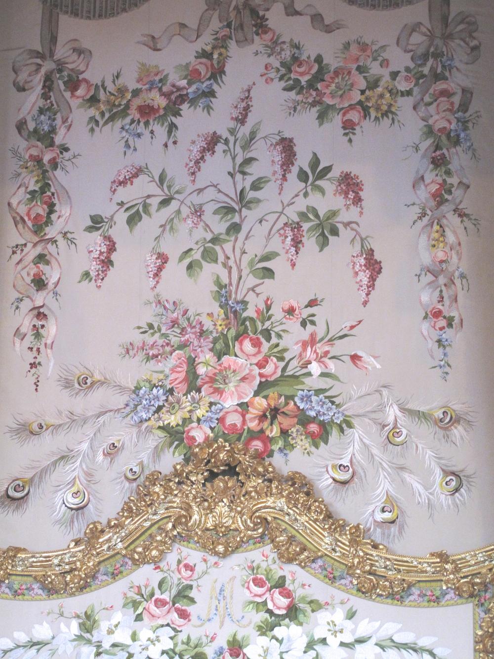 Marie Antoinette bed pattern
