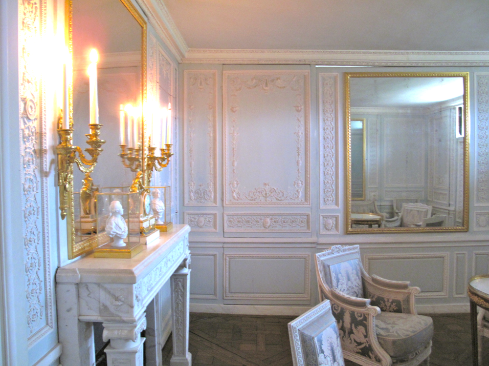 pastel room in Versailles