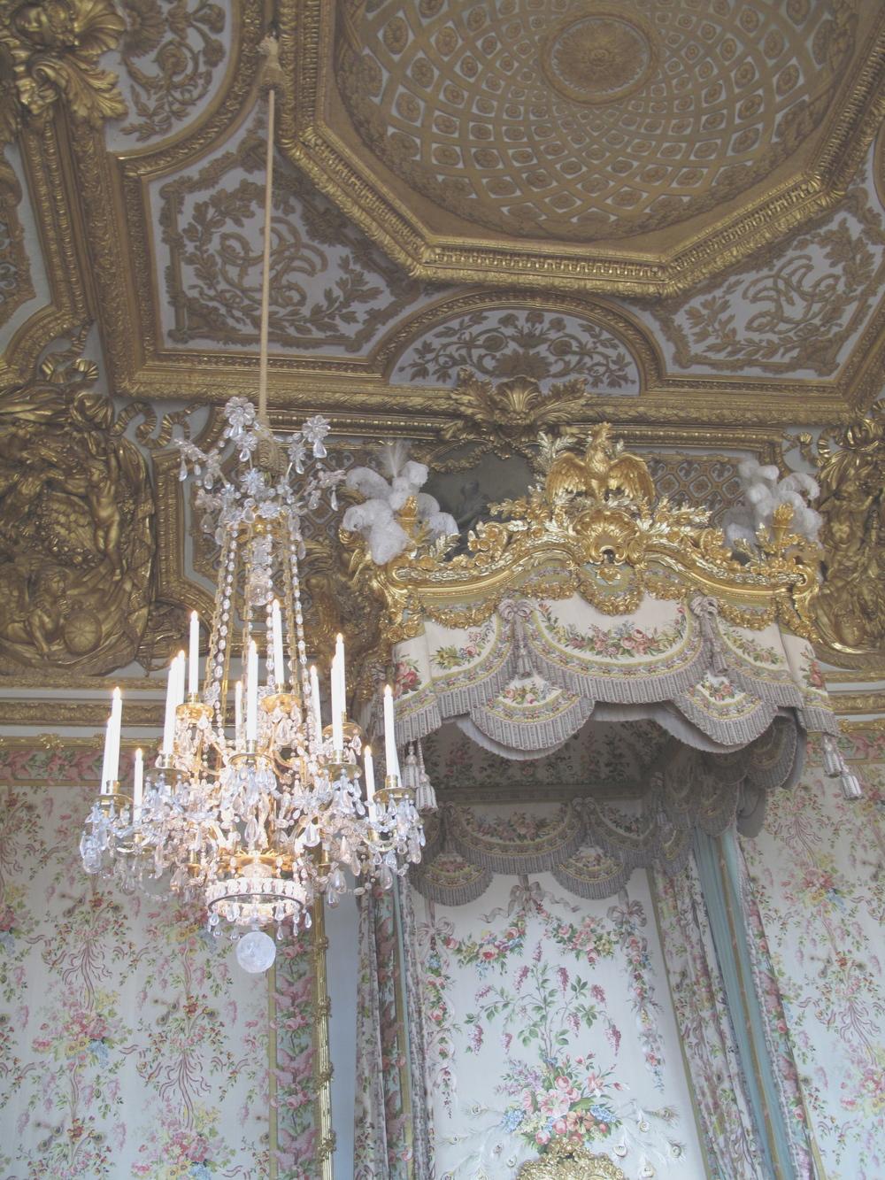 Marie Antoinette's Bedroom Versailles