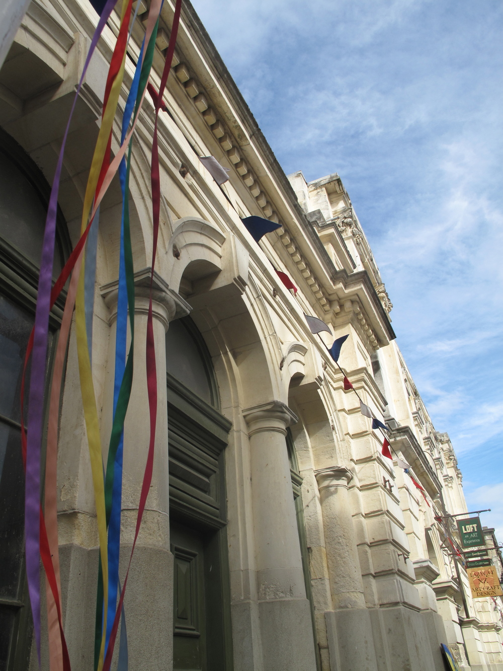 Oamaru streamers and ribbons Victorian area