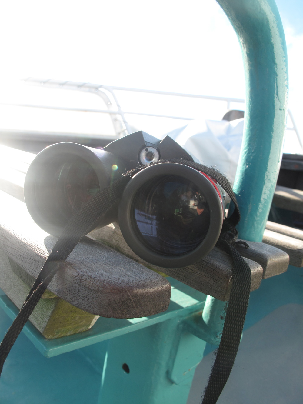 Binoculars exploration of the seas