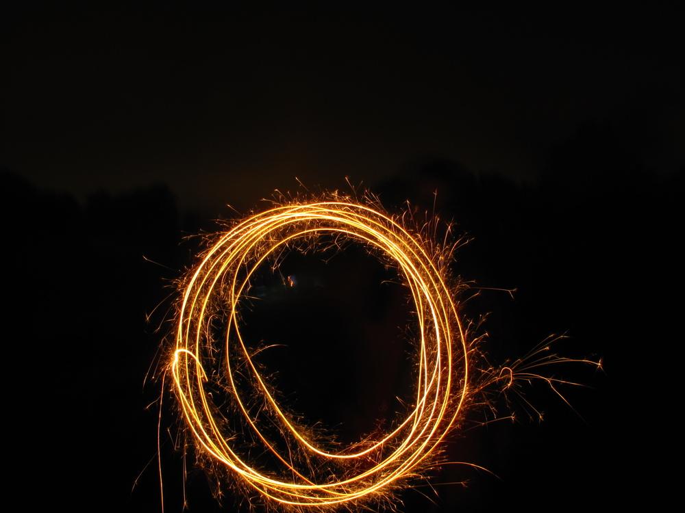 Sparkler circles