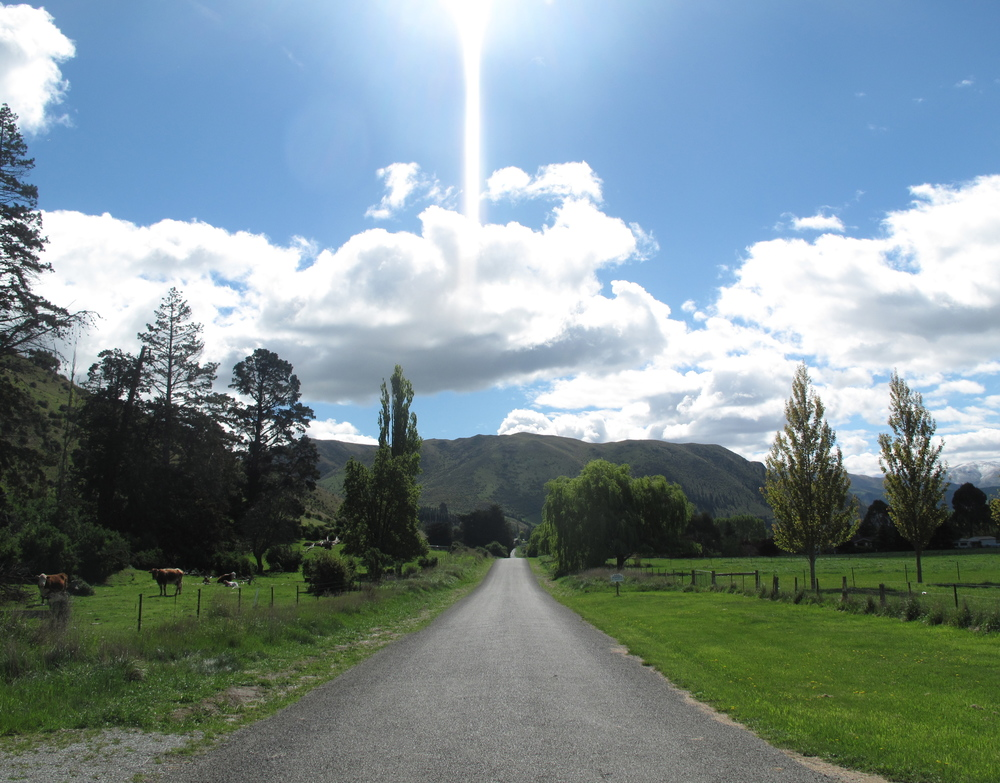 Kurow gravel roads - the backyard of NZ