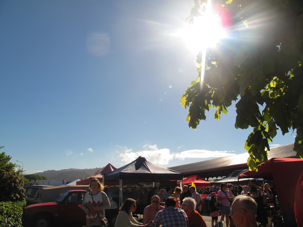 Saturday Otago Farmer's Market, Dunedin NZ