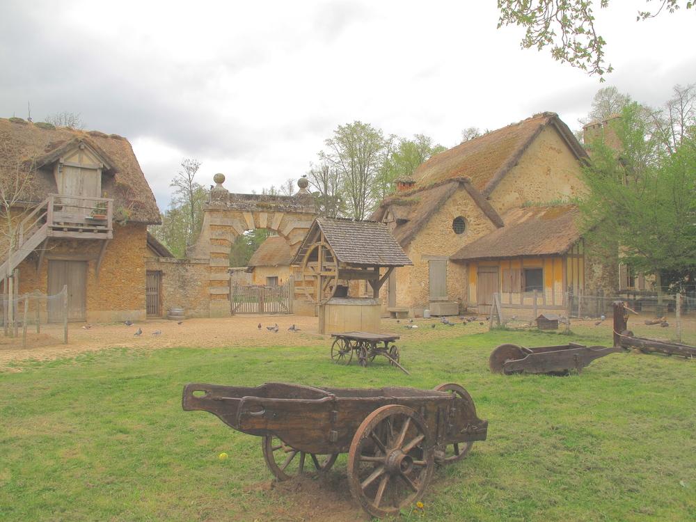 the Hameau de la Reine, Versailles, farmhouses