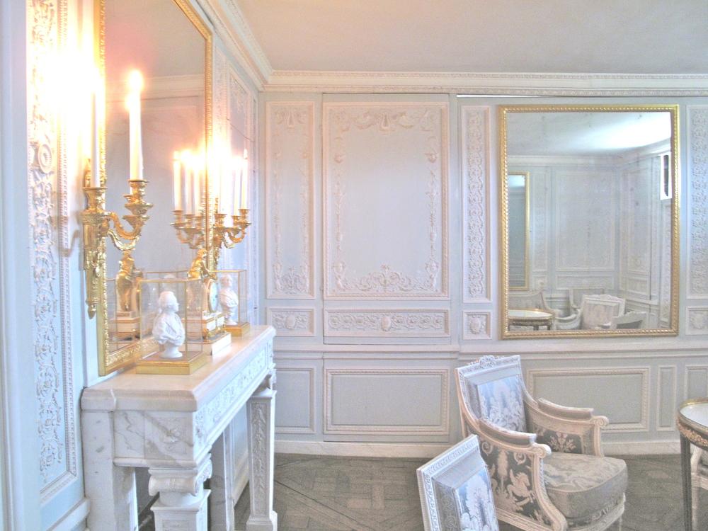 Marie Antoinette's apartment at the Petit Trianon