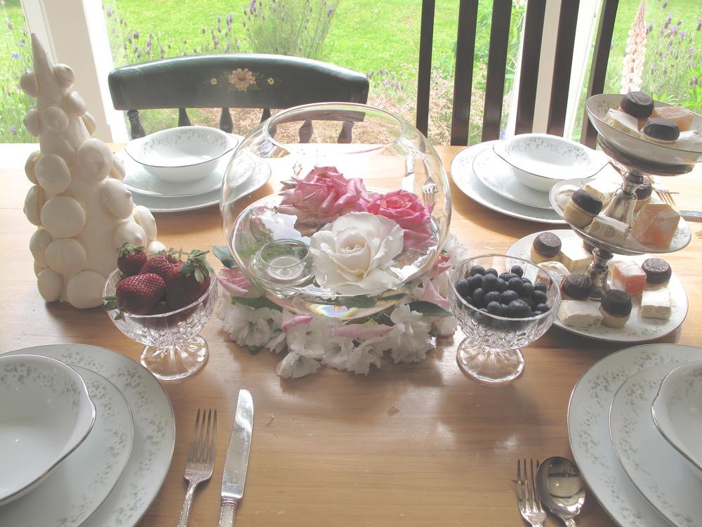 Marie Antoinette party food