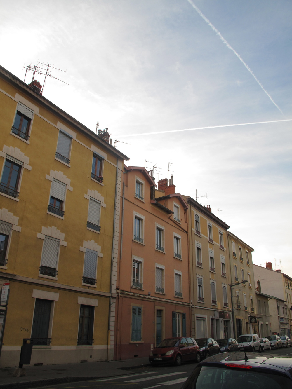 Oullins houses in Lyon, France