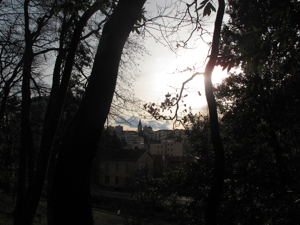 View from Oullins parc, Lyon