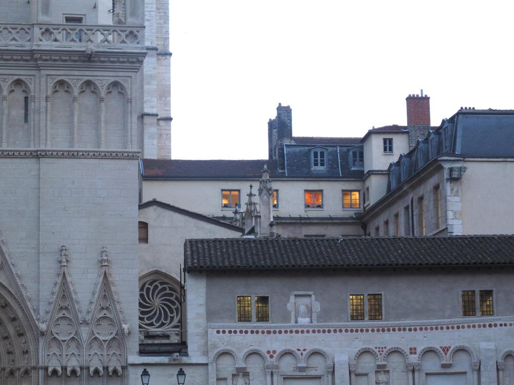 Vieux Lyon rooftops