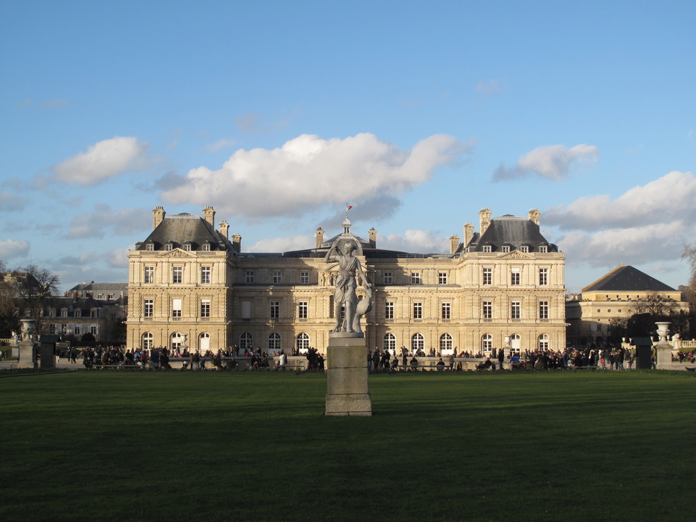 The Luxembourg Gardens of Paris