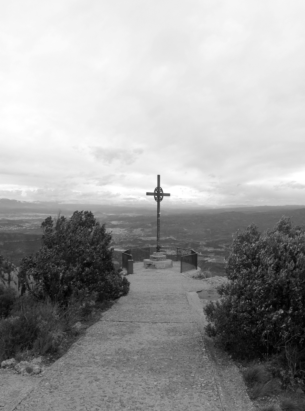Cross at montserrat