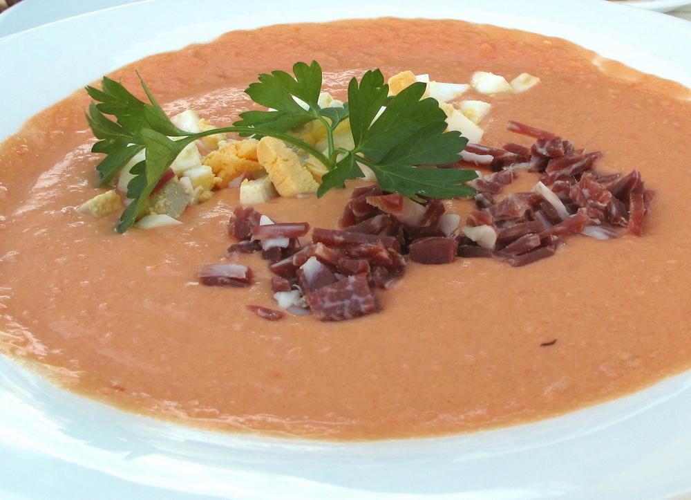Salmarejo dish in Granada