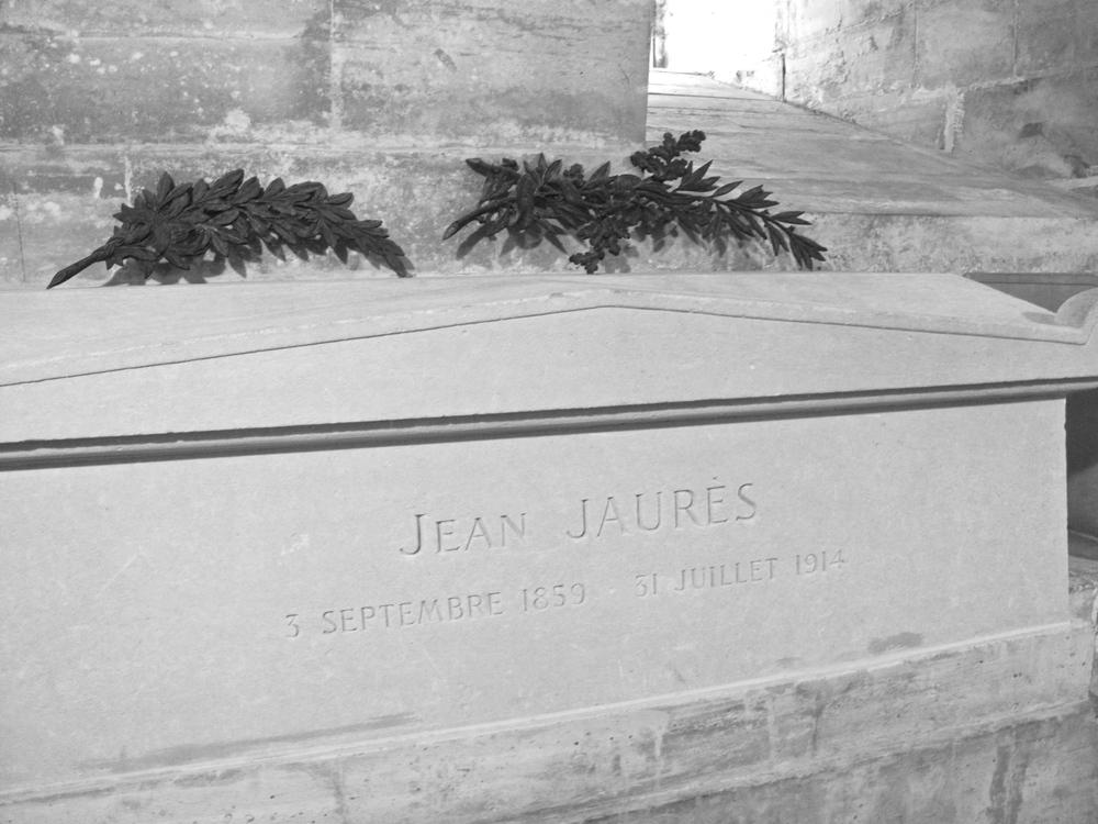 Tomb of Jean Jaures at the Pantheon