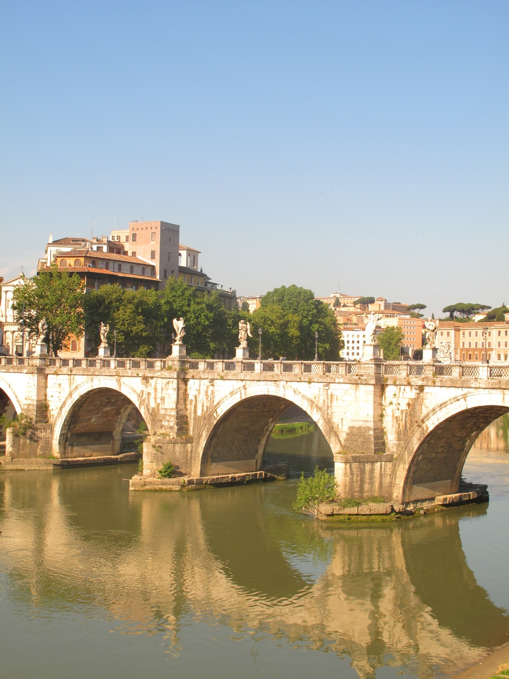 Bridges near the Castel Sant'Angelo
