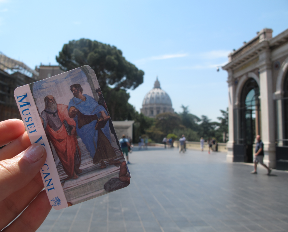 ticket to the Vatican museum