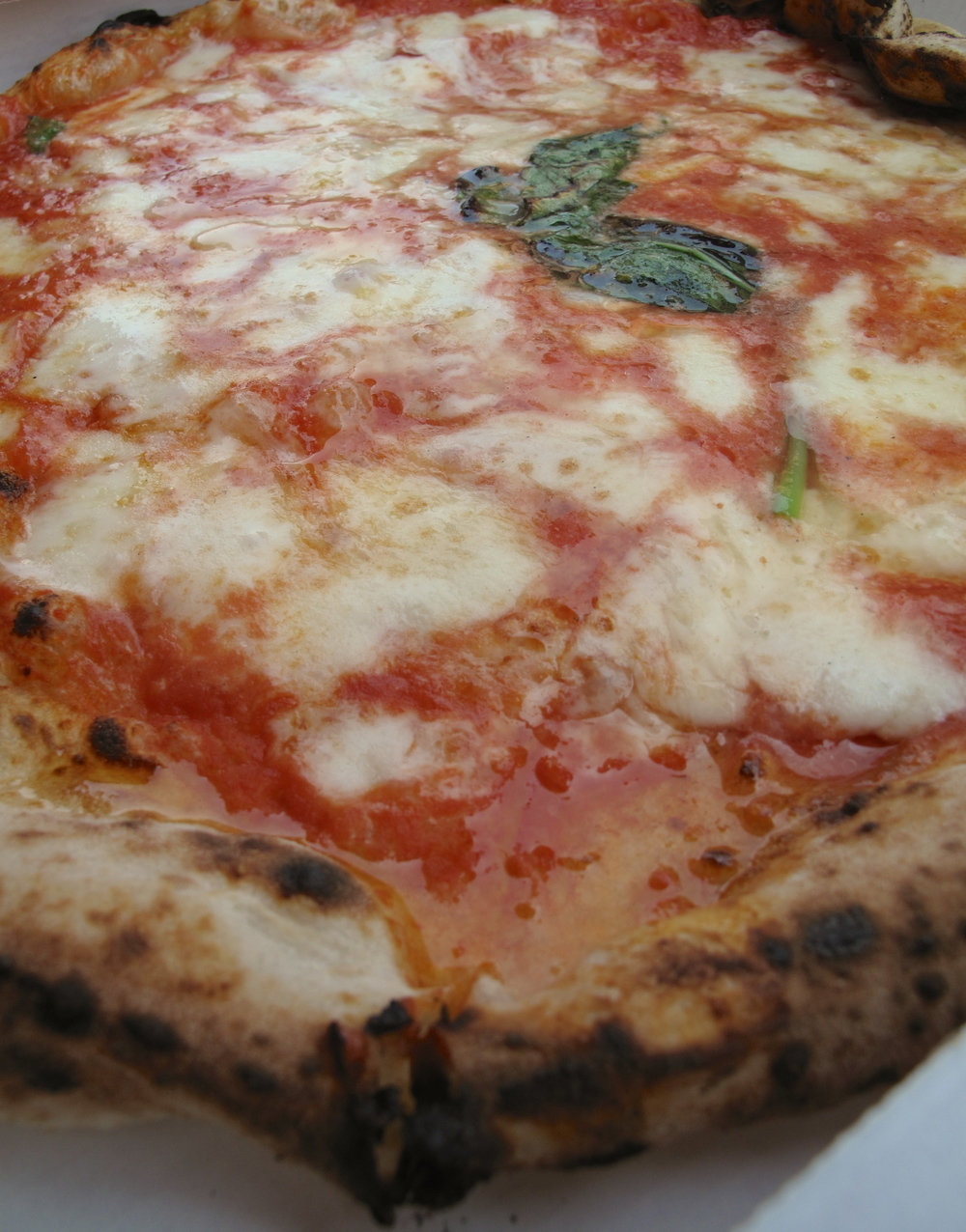 Pizza from L'Antica Pizzeria da Michele