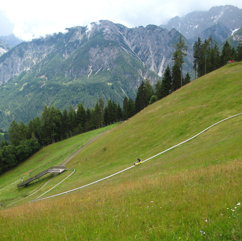 Austrian mountain coaster!
