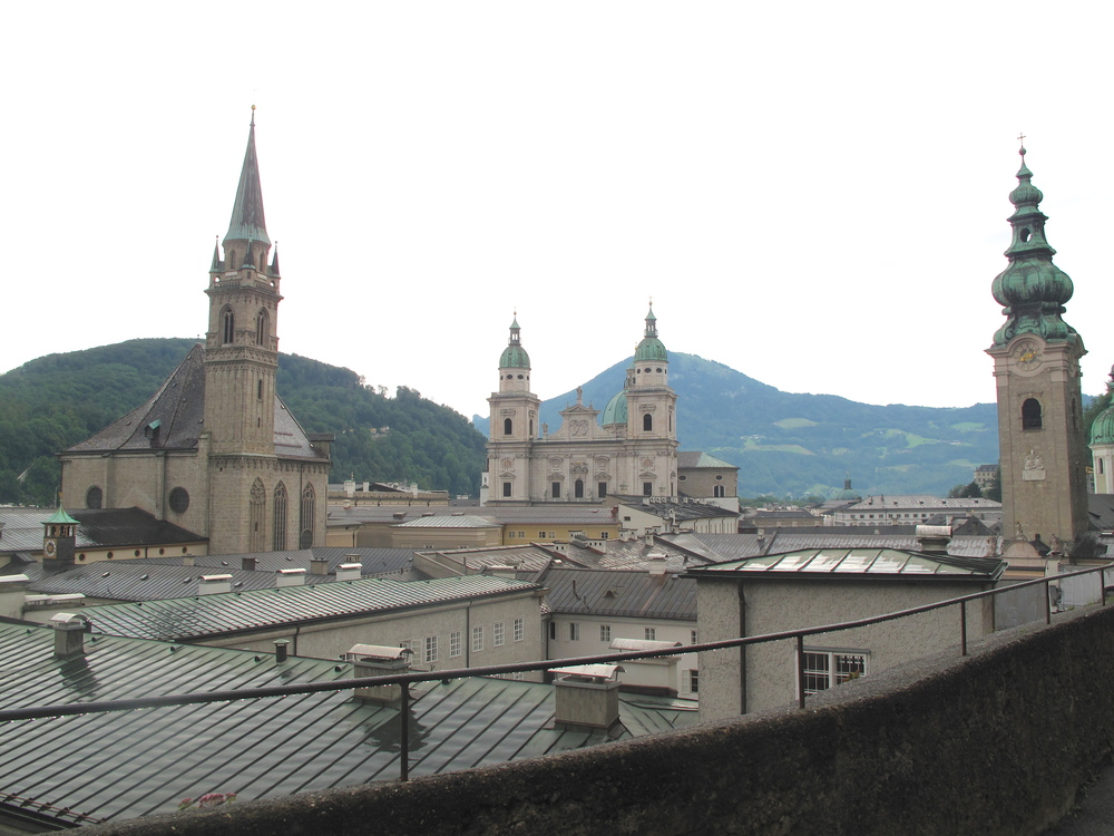 Place where Maria looks over Salzburg in the Sound of Music.