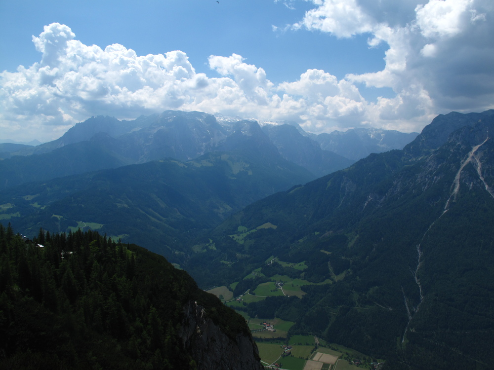 The mountains of Austria near Werfen.