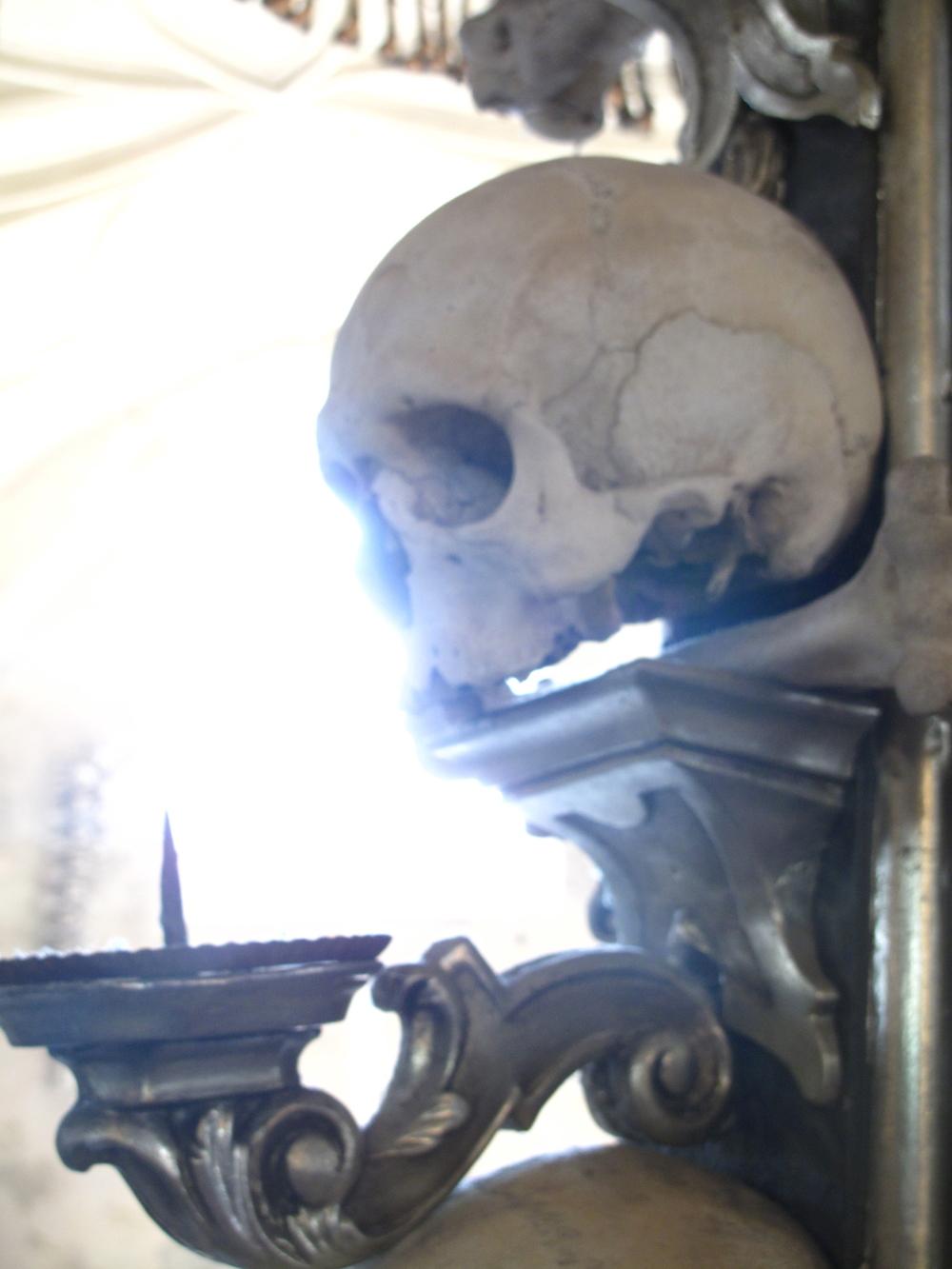 Human skull kutna hora