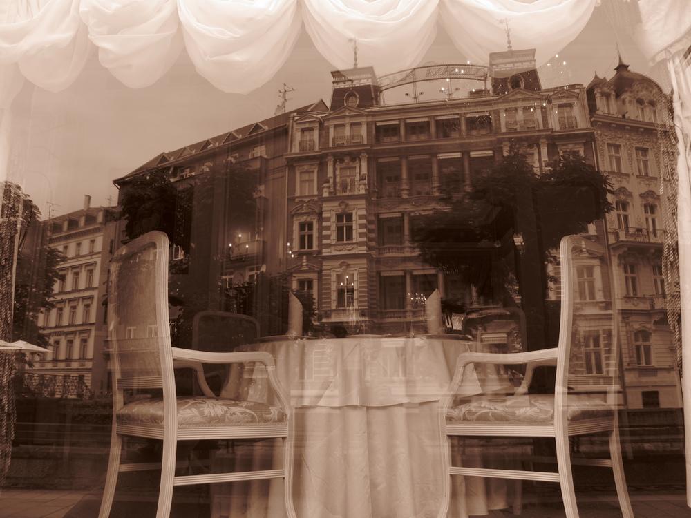 Old restaurant in Karlovy Vary