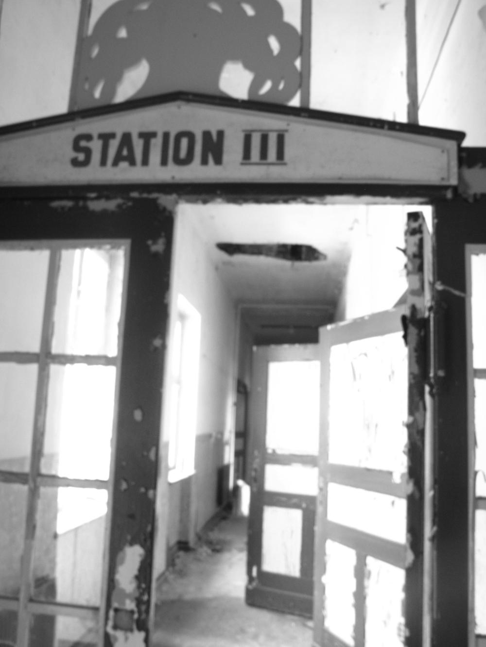 Station II - wards inside Elisabeth Sanatorium