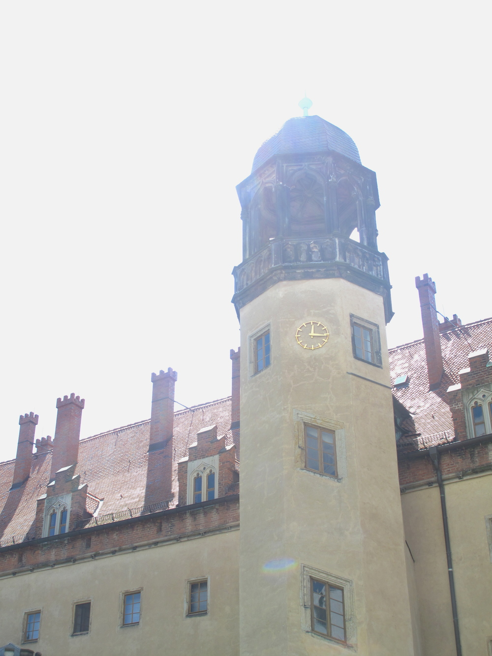 Martin Luther's house in Wittenberg - the tower.